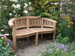 Outdoor Wooden Garden Furniture Curved Wooden Garden Bench Qpyfb Cnxconsortium Org Outdoor