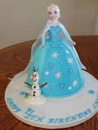u2026 elsa doll cake frosting techniques