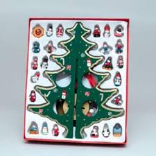small wooden tree ornaments rainforest islands ferry