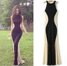 evening maxi dresses real sle n custom made two tones maxi dresses high neck mermaid