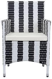 Black Patio Chairs Patio Chairs Pe Rattan Outdoor Chair Safavieh