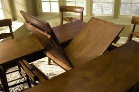 dining room tables with built in leaves spectacular dining room table leaves tables le with leaves