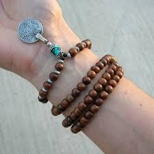 bracelet pendant images 108 bead mala necklace or bracelet wood prayer beads with jpg