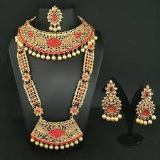 bridal jewellery 14fashion gold plated bridal jewellery set jewelmaze