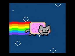 Flying Cat Meme - nyan cat original youtube