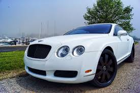 bentley custom bentley continental matte white wrap 2005 mr kustom auto