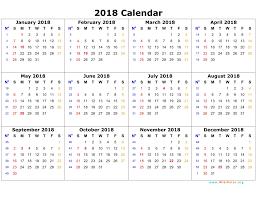 Kalender 2018 Free 2018 Calendar Printable Templates Blank Calendar Editable