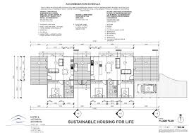 Sustainable House Design Floor Plans by Sustainable Housing For Life Competition Baxter U0026 Jacobson