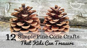pine cone decoration ideas 12 perfectly simple pine cone crafts kids can treasure