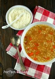authentic suburban gourmet perfect italian soup friday night bites