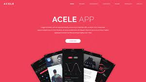 acele app game product html template by sposobstudio themeforest acele app game product html template