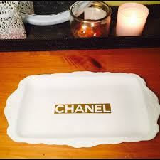 Makeup Vanity Tray 76 Off Chanel Other Chanel Vanity Tray From Jennifer U0027s Closet