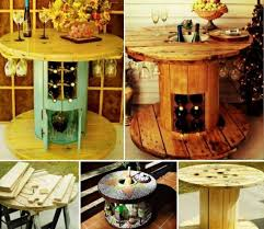 Wooden Spool Table For Sale 101 Best Repurposed Wood Cable Spool Images On Pinterest