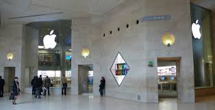 paris apple store apple unveils first apple store in france located in the