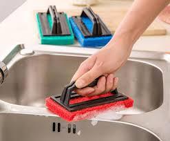 Kitchen Sink Brush 2018 Bathtub Kitchen Sink Cleaning Brush With Handle Glass Tile