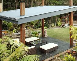 Patio Metal Roof by Corrugated Metal Roofing Patio Tropical With Corrugated Metal Roof
