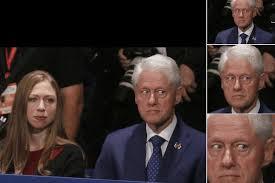 Bill Clinton Meme - bill clinton make faces watching debate meme