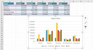 excel 2016 charts full page