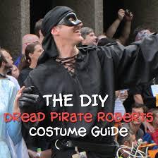 Dress Zorro Costume Halloween Cosplay Guides Dread Pirate Roberts Costume Diy Guide