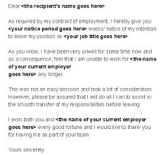 i resign com free resignation letter templates and sample