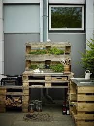 aussenküche bauanleitung outdoor küche aus paletten selber bauen aussenküche