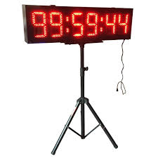 2018 godrelish large 8 led race timing clock countdown timer