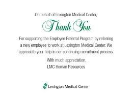 8371 090 chuman resources employee referral thank you card lmc
