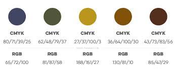 3 crisp cozy autumn color palettes