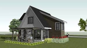 small cottage cabin home design scandia modern cottage