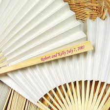 personalized paper fans 70 best fan giveaways images on wedding fans