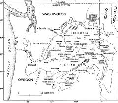 Columbia River Map Usgs Geological Survey Circular 838 Guide To Geologic Field Trip