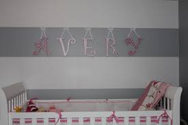 Letters For Baby Nursery Simply Made With Love Mod Podge Scrapbook Wall Letters