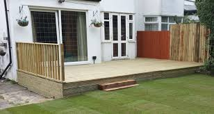 Garden Decking Ideas Uk Smart Gardens Leeds Decking Company Fencing Garden Decking Leeds