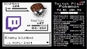 Wat Twitch Plays Pokemon Know Your Meme - scumbags 2 0 twitch plays pokemon know your meme