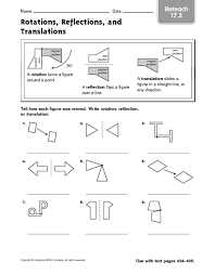 6th grade geometry worksheets reflections worksheet geometry worksheets
