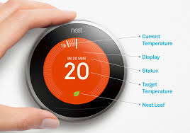 black friday nest thermostat tour of the nest learning thermostat temperature screen