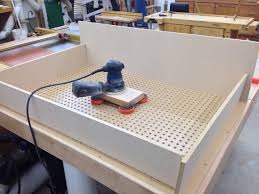 Pauls AssemblyDowndraft Table The Wood Whisperer - Downdraft table design