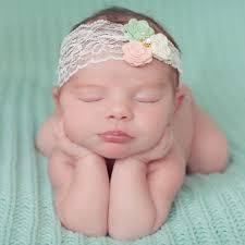 mint green headband mint green ivory pink flower headband childrensalon