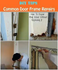 Repair Interior Door Frame How To Fix Door Frame Repair Interior Door Frame Image Collections