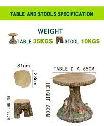 tree trunk design for garden bench and desk buy desk table and