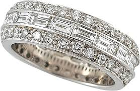 gold eternity rings 18k white gold diamond eternity ring 110 2382