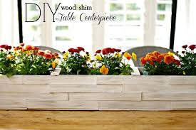 Small Wooden Boxes For Centerpieces by Tabletop Wood Shim Planter Box Infarrantly Creative