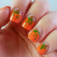 thanksgiving nail art tutorial nail art pumpkin nail art maxresdefault fall gold nails with