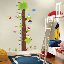 cartoon animals children kids growth height measure chart wall cartoon animals children kids growth height measure chart