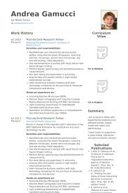 Profile Examples For Resume How To Make Your Resume Stand Out American Document Environmental