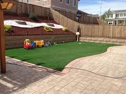 faux grass heber california playground turf backyard