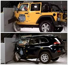 small jeep wrangler 2015 jeep wrangler gets good iihs small overlap crash rating 2015