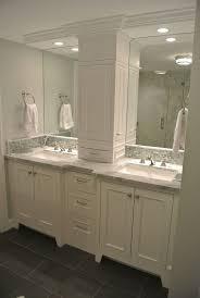 Bathroom Vanity Storage Tower Vanity Storage Tower The Doors On The Sides Instead