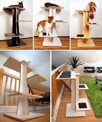 Modern Design Cat Furniture by Modern Cat Tree Alternatives For Up To Date Pets Trees Cats And