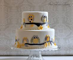 baby shower owl cakes baby shower the couture cakery